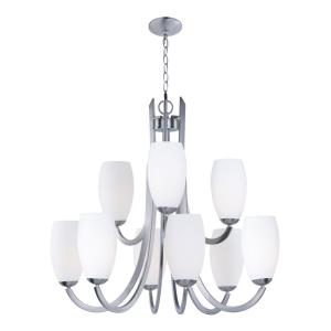 Taylor-Nine Light 2-Tier Chandelier-31.5 Inches wide by 30 inches high
