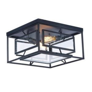Era - Two Light Flush Mount with Bulb Included