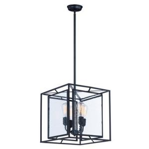 Era - Four Light Pendant with Bulb Included