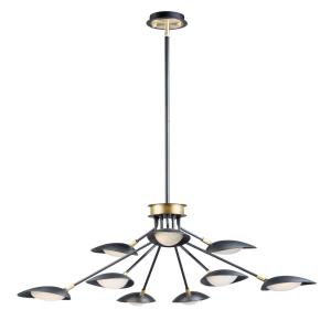 Scan - 58.5W 9 LED Chandelier in European style - 43.25 Inches wide by 12.5 inches high