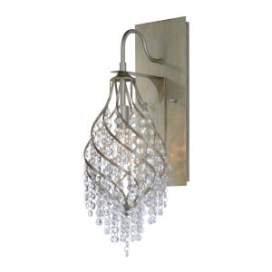 Twirl-One Light Wall Sconce-7.25 Inches wide by 22.25 inches high