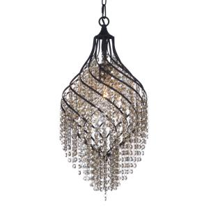 Twirl - 1 Light Pendant in Contemporary style - 11.5 Inches wide by 25 inches high