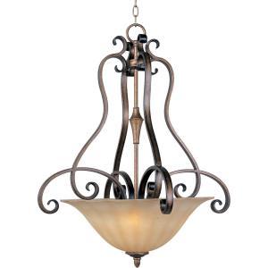 Fremont - Three Light Invert Bowl Pendant
