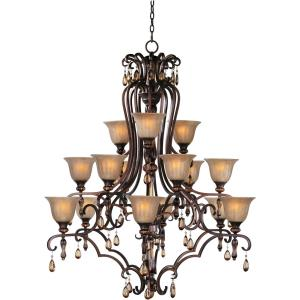 Dresden - Fifteen Light 3-Tier Chandelier
