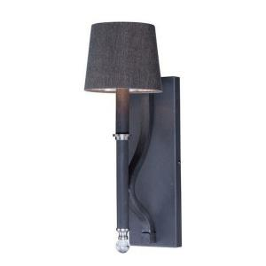 Hendrick-One Light Wall Sconce with Shade-6.5 Inches wide by 19 inches high
