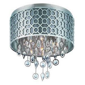 Symmetry-Five Light Flush Mount in Modern style-20.5 Inches wide by 19.5 inches high