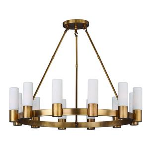 Contessa-Twelve Light Chandelier in European style-35 Inches wide by 28 inches high