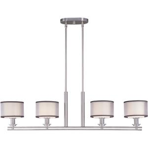 Orion-Four Light Pendant in Modern style-6.5 Inches wide by 25.5 inches high