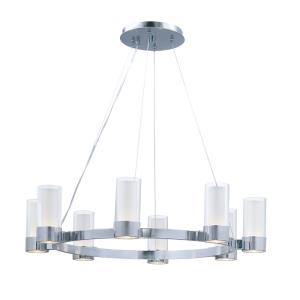 Silo - 16W 8 LED Chandelier - 32 Inches wide by 7 inches high