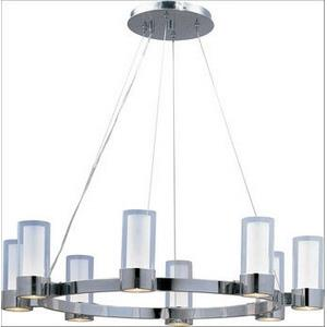 Silo - Eight Light Chandelier