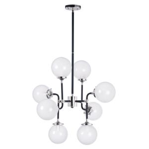 Atom - 8 Light Pendant in Modern style - 28 Inches wide by 22.75 inches high
