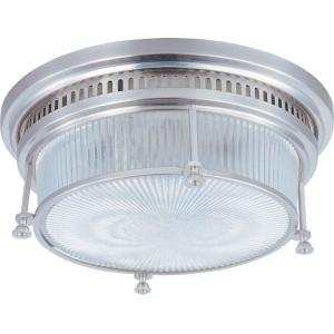 Hi-Bay - Two Light Flush Mount