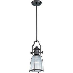 Hi-Bay - One Light Adjustable Pendant