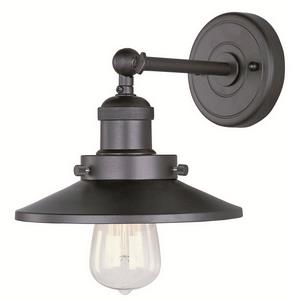 Mini Hi-Bay - One Light Wall Sconce
