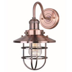 "15.5"" Mini Hi-Bay - One Light Wall Sconce"