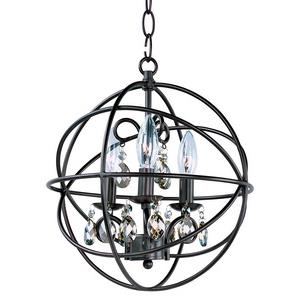 Orbit - Three Light Chandelier