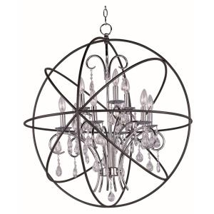 Orbit - 9 Light Pendant in Transitional style - 30 Inches wide by 33 inches high
