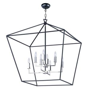 Abode - 8 Light Chandelier - 32.5 Inches wide by 35.75 inches high