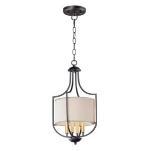 Savant-4 Light Chandelier-11 Inches wide by 21 inches high