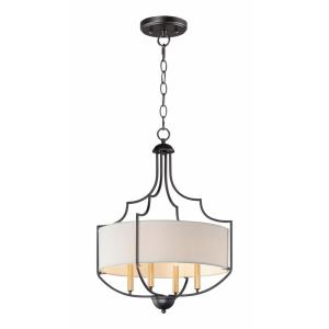 Savant-4 Light Chandelier-20.25 Inches wide by 26 inches high
