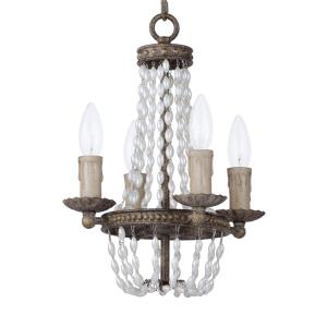 Gisele-Four Light Chandelier-11 Inches wide by 14.5 inches high