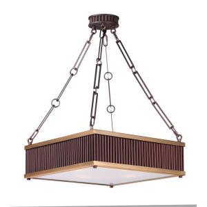"Ruffle - 18.5"" Four Light Pendant"