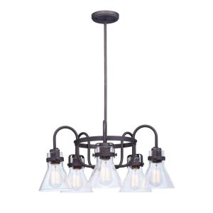 Seafarer - 5 Light Chandelier in Mediterranean style - 23.75 Inches wide by 10.75 inches high