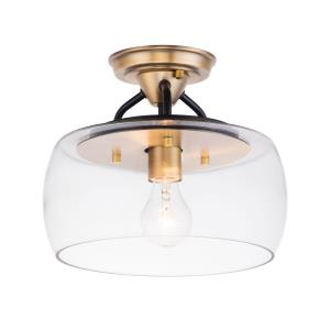Goblet - 1 Light Semi-Flush Mount
