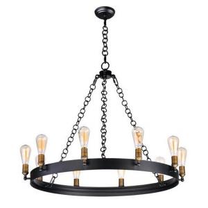 Noble - Ten Light Chandelier with Bulb Included