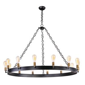 Noble - Fourteen Light Chandelier - 50 Inches wide by 33.5 inches high