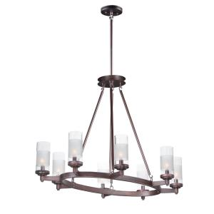 Crescendo-8 Light Chandelier-24 Inches wide by 26 inches high