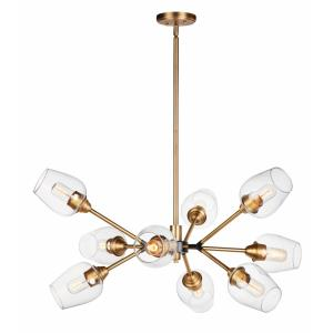 Savvy - Nine Light Chandelier