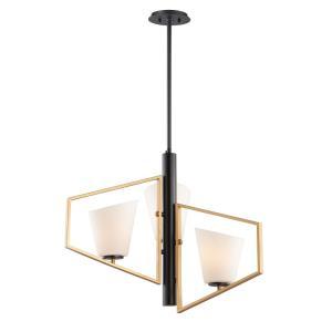 Oblique - 3 Light Pendant
