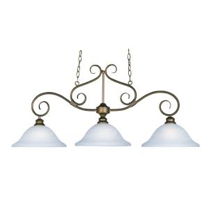 Pacific - 3 Light Linear Pendant