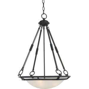 Stratus - Four Light Invert Bowl Pendant