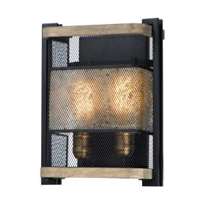 Boundry-Two Light Wall Sconce-13.25 inches high