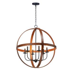 Compass - 6 Light Pendant