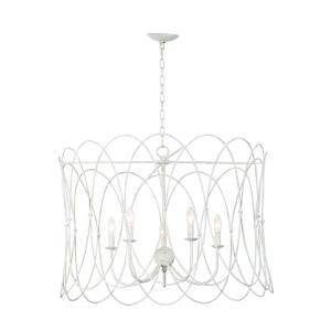 Trellis-5 Light Chandelier-32.25 Inches wide by 23.25 inches high