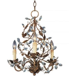 Elegante - Three Light Chandelier