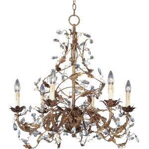 Elegante - 6 Light Chandelier