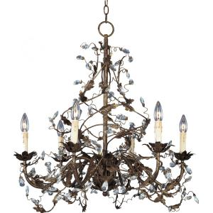 Elegante - Six Light Chandelier