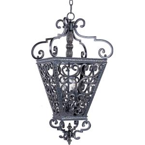 Southern-4 Light Entry Foyer Pendant in Mediterranean style-22 Inches wide by 32.5 inches high