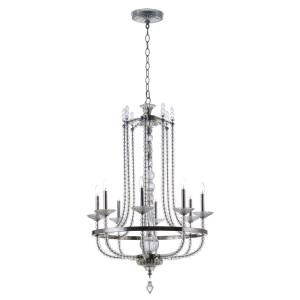 Paris-Eight Light Chandelier-31.5 Inches wide by 49.75 inches high