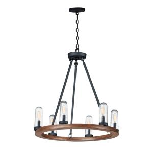 Lido - Six Light Outdoor Chandelier
