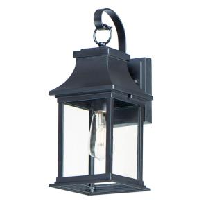 Vicksburg-1 Light Small Outdoor Wall Sconce-6.75 Inches wide by 16 inches high