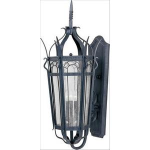 Cathedral - Three Light Outdoor Wall Mount