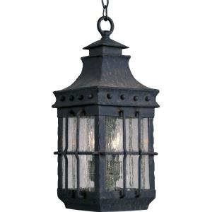 Nantucket - 3 Light Outdoor Hanging Lantern