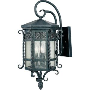Scottsdale - 3 Light Outdoor Wall Lantern