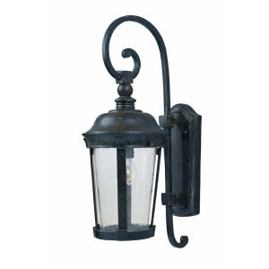 Dover DC-1 Light Outdoor Wall Lantern in Mediterranean style-8 Inches wide by 19.5 inches high