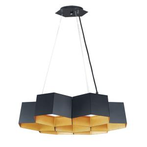 Honeycomb-70W 7 LED Chandelier-22.5 Inches wide by 6.25 inches high